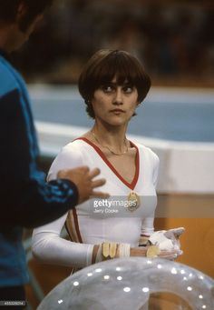 gymnastics 1980 summer olympics view of romania nadia