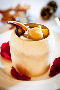 Had one too many turkeys this Christmas?  How about enjoying the Yuletide season with an oriental twist at our award-winning Cantonese restaurant Cassia? I absolutely love this double-boiled coconut soup with sea whelk, crab claw, fish maw and dried scallop!   #Dining #Cassia #Soup #Luxury #Singapore #Asia