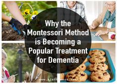 The Montessori method is being used to help caregivers engage Alzheimer& patients. Learn more about its benefits and how to put it into practice. Alzheimer Care, Dementia Care, Alzheimer's And Dementia, Dementia Quotes, Elderly Activities, Senior Activities, Therapy Activities, Physical Activities, Outdoor Activities