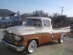 1959 Dodge Sweptside pickup truck - beautiful restoration
