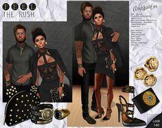 Love in Black&Gold | rushsl.blogspot.com.es/2014/08/love-in-black.html