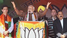Terror strikes in Kashmir attack on democracy: Modi in Jharkhand (Lead)