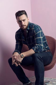 Aaron Taylor-Johnson photographed by Caitlin Cronenberg for W Magazine, during Toronto International Film Festival, on September 12, 2016