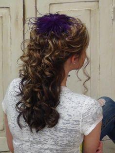 Cascading Half Up Do for Long Hair | Hair Tutorial
