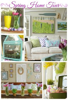 Spring Home Tour at The Happy Housie