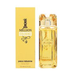 Mens Fragrances: 1 Million Cologne By Paco Rabanne For Men 4.2 Oz Edt Spray Brand New -> BUY IT NOW ONLY: $48 on eBay!