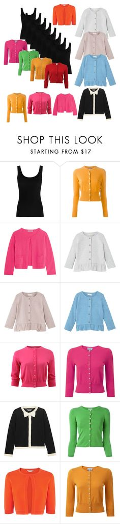 """""""Allll the cardigans i can wear with vests"""" by miralmxdx ❤ liked on Polyvore featuring Twenty, N.Peal, Autumn Cashmere, MANGO, Michael Kors, Pure Collection, Boutique Moschino, P.A.R.O.S.H., L.K.Bennett and Oscar de la Renta"""