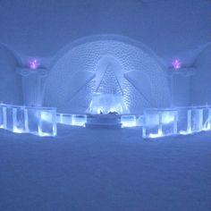 Levi, Lapland - Snow Chapel..... so pretty