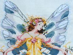 Ricamo cross di Nora Corbett. (Parte 1) LADIES Mythical