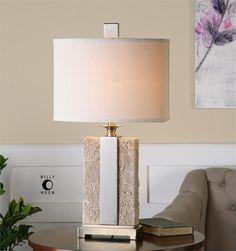 "Uttermost Bonea lamp 29""h, shade 15"" x 9"""