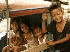 Filipino Children. I miss your smiles. So constant. So loving. Though they have nothing.
