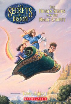 GoReaderGo.com recommends The Hidden Stairs and the Magic Carpet, the first  in the Secrets of Droon  series  of easier chapter books.