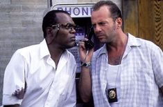 In Die Hard With a Vengeance, a bomber named Simon is terrorizing the city and John McClane (Bruce Willis) and Zeus Carver (Samuel L. Jackson) are forced to play Simon Says and accomplish devious tasks that require quick thinking and sharp puzzle skills.