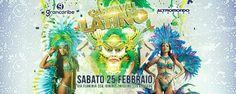 Sei pronto per la festa di Carnevale più colorata e più bella della Riviera? Sabato 25 febbraio 2017 all'Altromondo Studios arriva il Carnevale latino.
