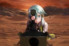 Watch 8 Minutes on Art Online: Fatal Bullet Gameplay