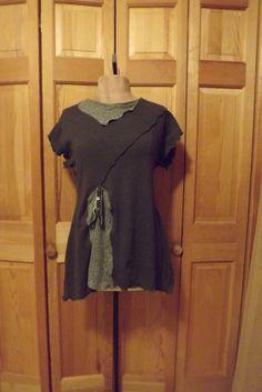 lagenlook | Lagenlook Upcycled Recycled Tshirt Designer by bluemermaiddesigns