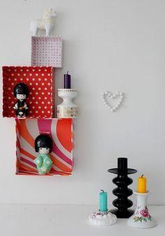 Decoração: Caixotes de papel by Jessica Santin (Jehhhhh), via Flickr