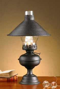 Check out the deal on Black Hartford Lamp with Shade at Primitive Home Decors