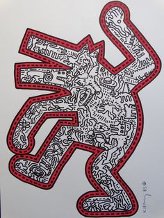 Buy online, view images and see past prices for Keith Haring drawing, hand signed. Invaluable is the world's largest marketplace for art, antiques, and collectibles. Keith Haring Prints, Keith Haring Poster, Keith Haring Art, Principles Of Art Balance, Balance Art, Art Games For Kids, Famous Art, Arte Pop, Renaissance Art