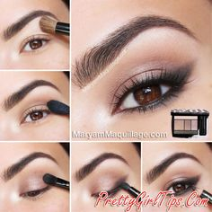 @prettygirltips Soft Eye Makeup Idea
