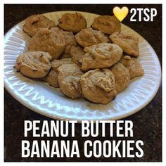Di's Food Diary 21 Day Fix Approved Treat Recipes = Peanut Butter Banana Cookies