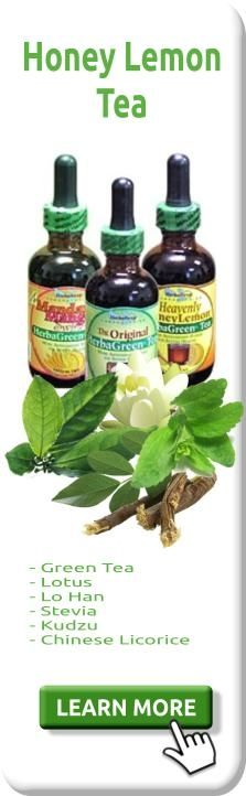 #Naturally sweetened with lo han fruit extract--which promotes #fatburning and soothes the digestion process--HerbaGreen Teas also contain lotus leaf (rich in isoflavones), kudzu (for promoting circulation), and 100mg of polyphenols, equivalent to at least 15 cups of the strongest brewed green tea. http://www.firsturl.net/3ZXbr0g