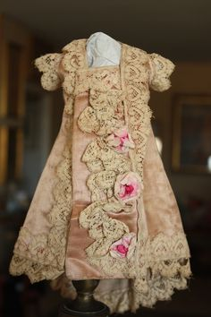 Wonderfull Pink Antique Dress - Castellidoll