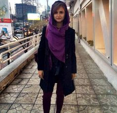Tehran times: I like the scarf placement