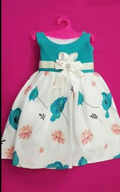 Kids Summer Dresses, Little Girl Dresses, Toddler Fashion, Kids Fashion, Princess Dress Kids, Baby Girl Dress Patterns, Frocks For Girls, Everyday Dresses, Kids Outfits