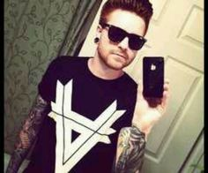 Matty Mullins from Memphis May Fire Memphis May Fire, Piercings, Feel Like Giving Up, Cool Bands, Mens Sunglasses, Boys, Instagram Posts, Mens Tops, Gauges