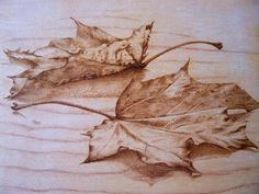 Fall In Pyrography