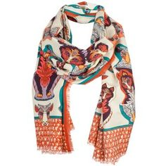 Wolf in Sheep's Clothing Scarf (Caramel) / Wolf & Badger exclusive £175