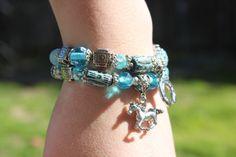 Horse Charm Horse Shoe Charm Bracelets Cowgirl by JustSouthOfUrban