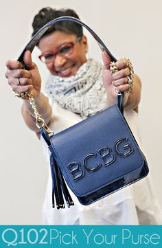 BCBG Paris - Midnight Crossbody. Go to wkrq.com to find out how to play Q102's Pick Your Purse!