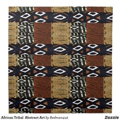 African Tribal  Abstract Art