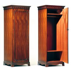 traditional style single mahogany wardrobe english made antique english mahogany armoire furniture