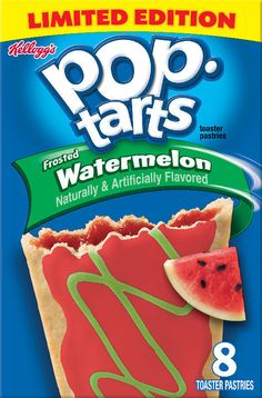 Watermelon Pop Tarts. | 19 Foods That Dared To Dream In 2015  I most likely would NOT try most of these XD