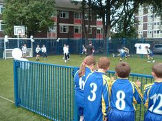 MUGA Pitch for KS2, Multi-Use Games Areas, AMV Playgrounds.