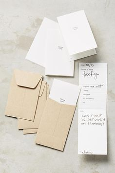 I'm pleased to share that Little Notes can now be found at one of my favorite stores: Anthropologie!It's fun to think how Little Notes will reach the hands of an audience beyond my petite graphic design co. Paper Packaging, Brand Packaging, Packaging Design, Branding Design, Layout Design, Print Design, Invoice Design, School Accessories, Grafik Design