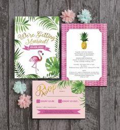Casamento com cores vivas, tropical e ananas. Mariage tropical, couleures vives, flashy, flamant rose, ananás. Pineaple wedding tropical.