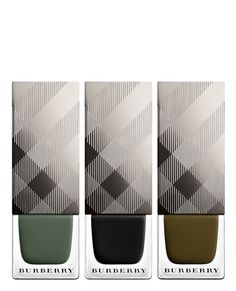 These olive-hued Burberry nail polish shades are totally on-point for fall.