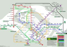 Future Singapore Mrt Map 2011 2015 2020 2025 Ocworkbench