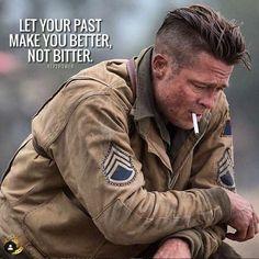 "Brad Pitt as Don ""Wardaddy"" Collier in Fury Mens Hairstyles With Beard, Haircuts For Men, Brad Pitt Hairstyles, Brad Pit Fury, Brad Pitt Fury Haircut, Brad Pitt Style, Fury 2014, Insta Look, Leonardo Dicaprio"