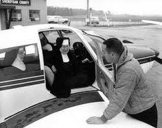"""The real """"flying nun"""", Sister Mary Aquinas Kinskey."""