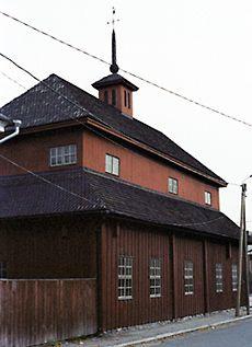 The oldest building in Kokkola, Finland is Pedagogio from 1696 - Kokkolan vanhin rakennus, Pedagogio, Kuva: Helena Myllykoski / YLE Wooden Houses, Old Buildings, Old Town, Sweet Home, Old Things, Interiors, Dreams, History, Country