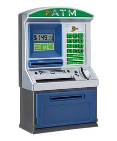 Zillionz Real Money ATM Bank | zulily