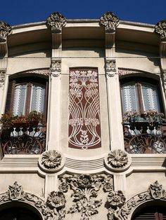 Turin - Via Pifetti - Art nouveau, province of Turin, Piemonte region Italy