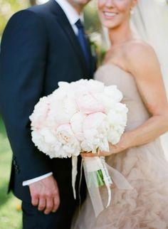 Peonies! http://www.stylemepretty.com/2015/02/26/spring-santa-barbara-wedding-at-villa-sevillano-part-i/ | Photography: Jose Villa - http://josevilla.com/