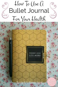 How To Use A Bullet Journal For Your Health-great for moms & anyone who needs to. How To Use A Bullet Journal For Your Health-great for moms & anyone who needs to track special health needs. Bullet Journal Health, How To Bullet Journal, Bullet Journal Layout, Bullet Journal Inspiration, Bullet Journals, Journal Ideas, Art Journals, Planner Journal, Daily Journal
