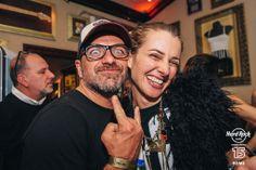 Giancarlo Cornetta e Carolina Di Domenico -    #HardRock #Rome 15th Anniversary #Party! #Happybdayhrcrome #Borntorock